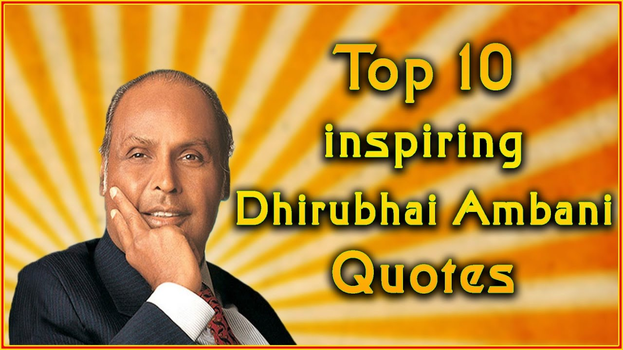 Dhirubhai Ambani: A Real Rags-to-Riches Story