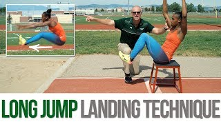 Long Jump - Proper Landing Technique