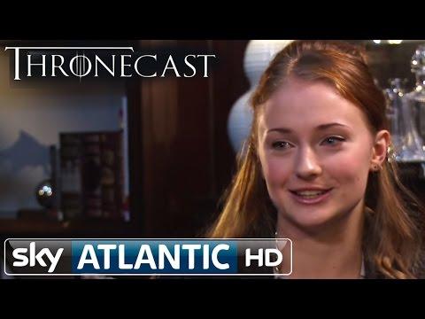Game of Thrones Sansa Stark - Sophie Turner Thronecast Interview