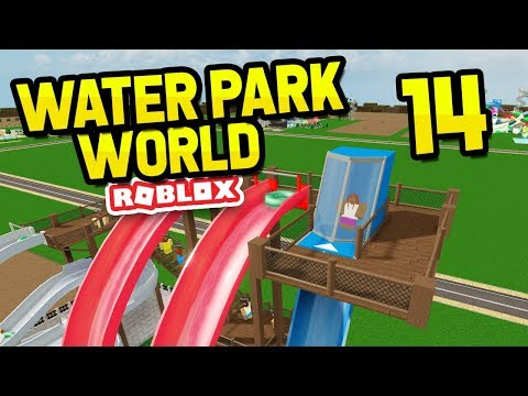 Trap Door Slides Roblox Water Park World 14 Youtube - roblox water park codes how to get 1 million robux for