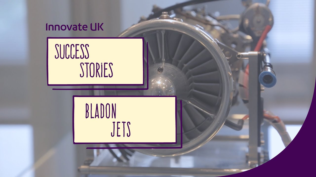 Innovate UK success story Bladon Jets innovative mobile and low