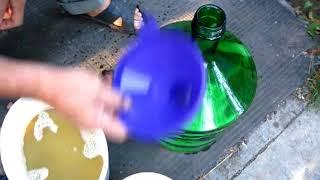 Отделяем сусло от мезги. Второе брожение вина 2017