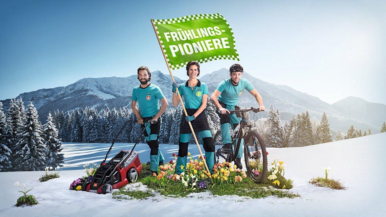 Tv Spot Coop Bauhobby Frühlingspioniere Allegro E Bike Youtube