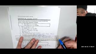 Publication Date: 2021-04-23 | Video Title: #英文考試技巧 #Nouns #Plural #Singul