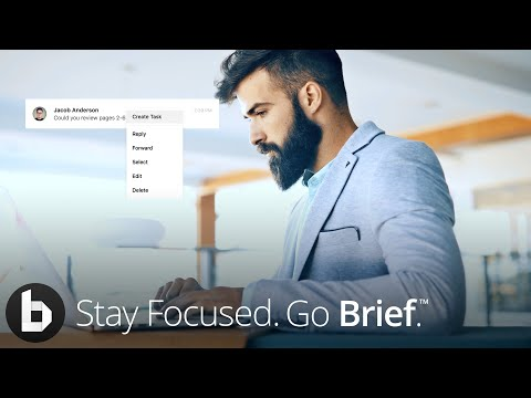 Get more productive with Brief, a new way to chat and manage tasks