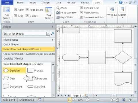 Microsoft Visio Tutorial - Video 1 of 3 Introduction