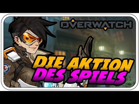 WOW... DIE AKTION DES SPIELS! - BLIZZARD: OVERWATCH - Deutsch German - Dhalucard