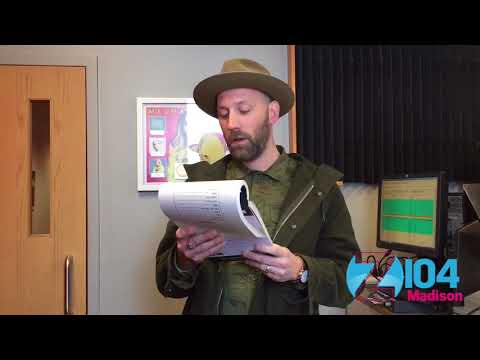 Mat Kearney plays Mad Libs