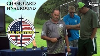 US Masters 2015 Chase Card Final Round Tim Selinske Disc Golf Tournament