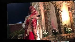 #wedding story anu and gaurav #mein ta tere naal hi rehna ji #lovebirds #coolcouple #bestwedding