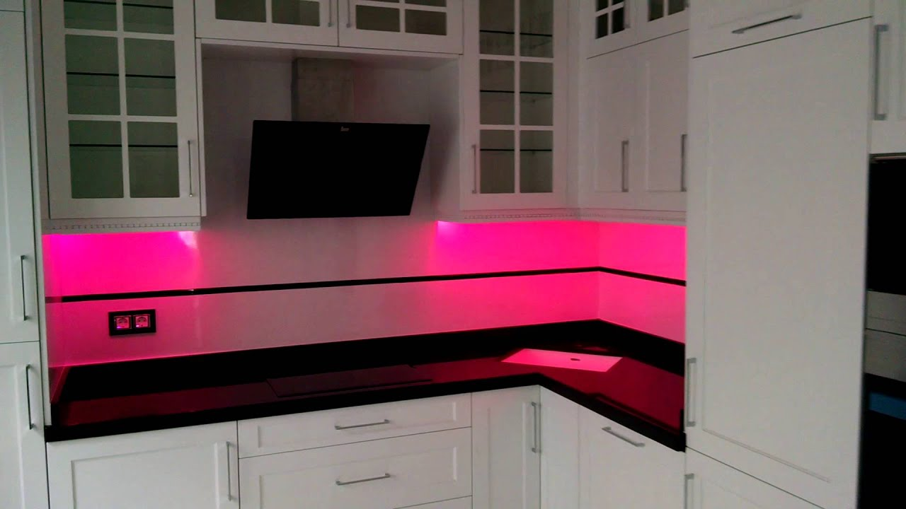 Luces led rgb en una cocina youtube - Luces led para cocinas ...