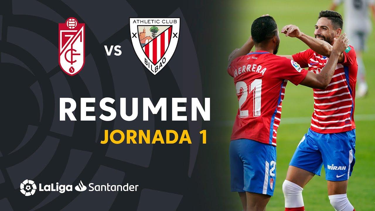 Гранада  2-0  Атлетик видео