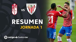 Resumen de Granada CF vs Athletic Club (2-0)