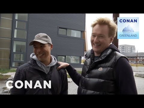 Conan Arrives In