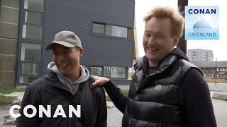 Conan Arrives In Nuuk - CONAN on TBS