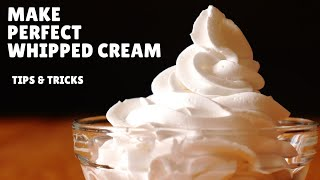 How to Make Whipped Cream at Home - Perfect Whipping Cream Recipe (Hindi)