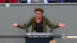Ulla Jelpke, DIE LINKE: Paranoide Sichtweise der AfD auf UN-Migrationspakt