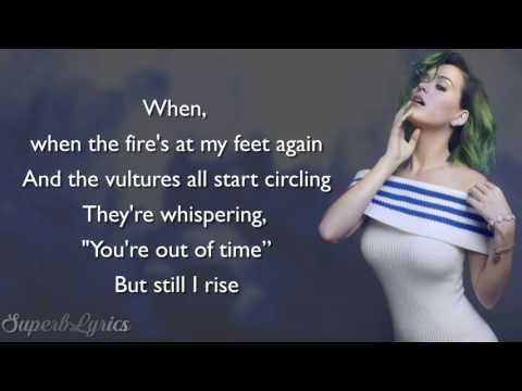 Katy Perry - Rise (Lyrics)