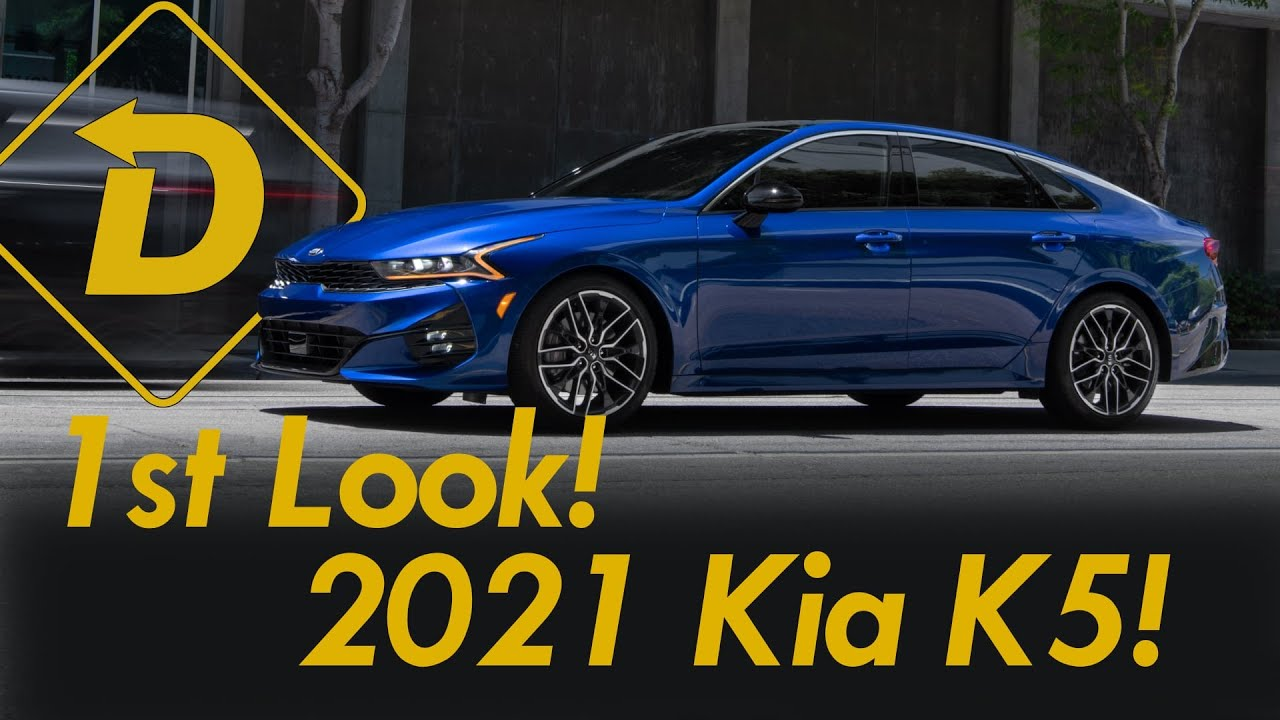 A First Look At The All-New 2021 Kia K5! (See Ya Later Optima)