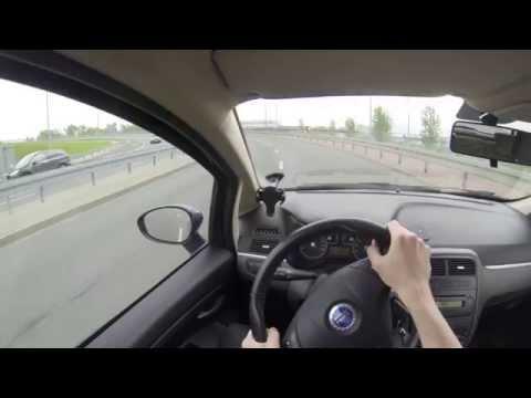 2008 Fiat Grande Punto 1.4 - POV Test Drive
