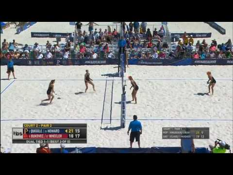 Beach Volleyball: USC 3, Pepperdine 2 - Highlights 5/7/17
