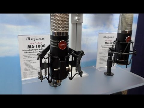 [AES] New Mojave Audio Mics: MA-1000 and MA-50