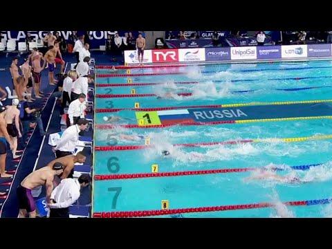 На чемпионате Европы по плаванию россияне завоевали золото в эстафете кролем и дистанции 50 метров.