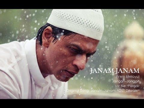Janam Janam 'Ost DILWALE' Versi Melayu | Jangan-Jangan - Mr Bie 'Parodi'