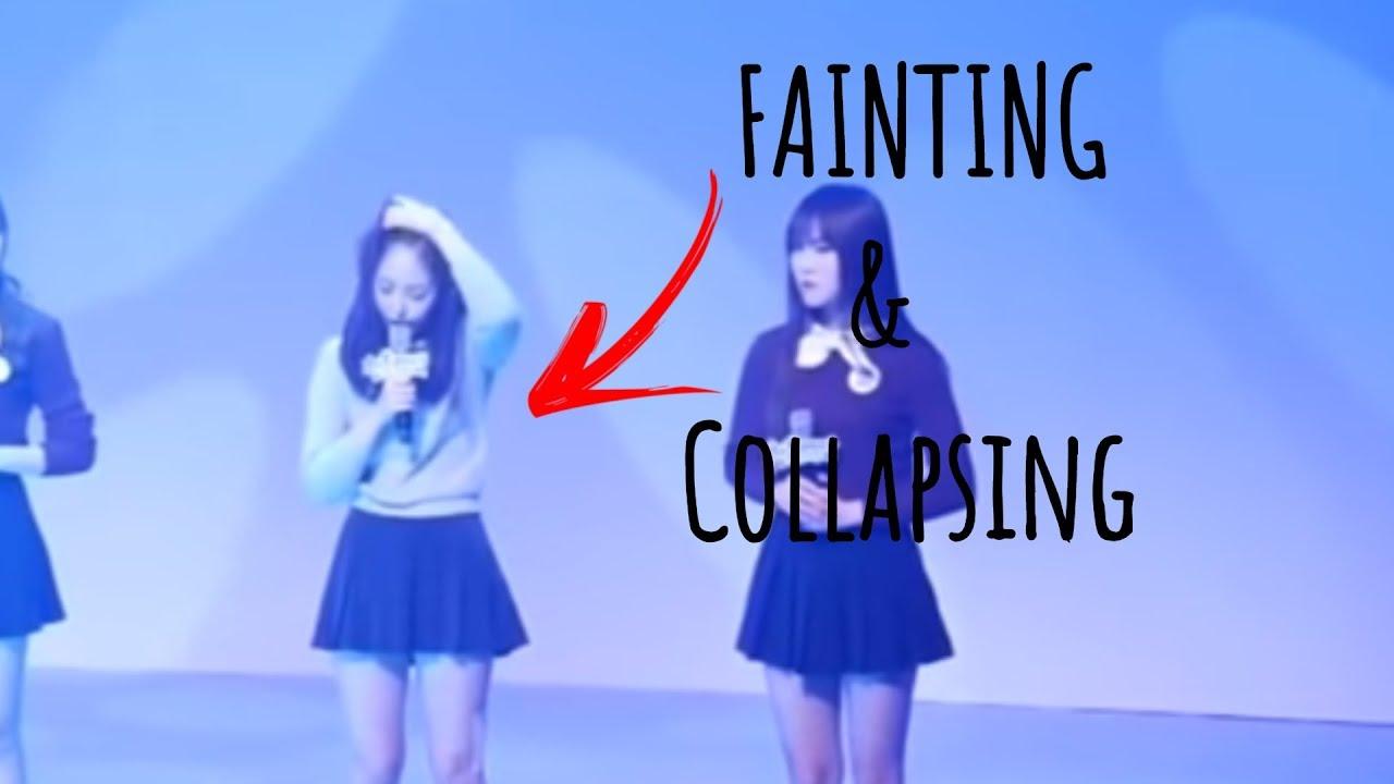 Kpop Idols Fainting Collapsing Youtube
