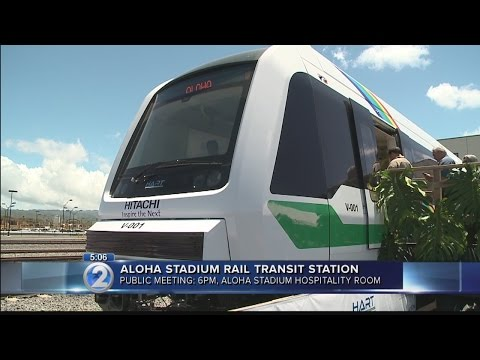 Take part in shaping of Aloha Stadium rail station in today's TOD meeting