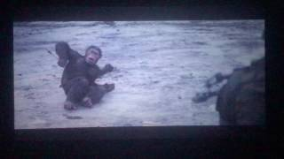 War of the planet of the apes Caesar kills troops