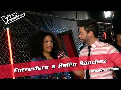 Entrevista a Belén Sánchez - La Voz Ecuador