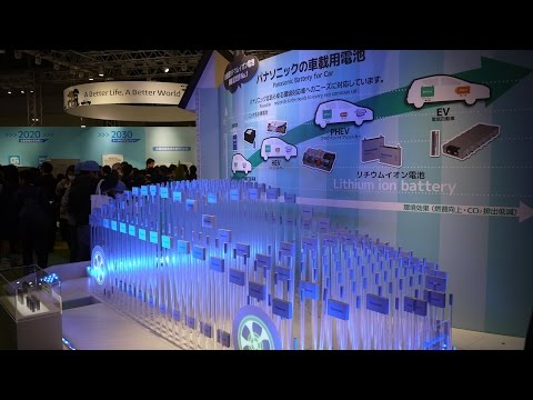 Panasonic's Next-gen Energy Solutions @ Eco-Products 2015 #ecopro
