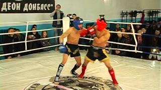 Открытый чемпионат ДНР по кикбоксингу среди взрослых и молодёжи посвящённый дню защитника отечества