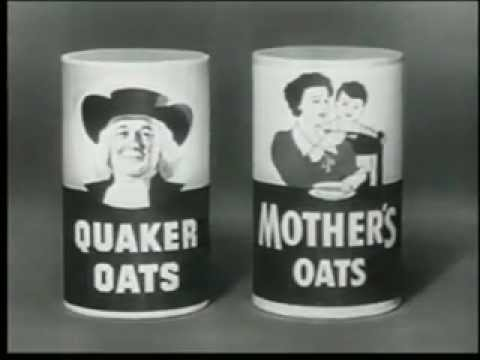 Quaker Oats Vintage Commercial 1960