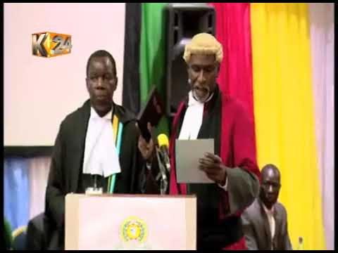Former CIC chairman sworn-in as Judge of East Court of justice