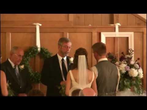 Wedding of Brenton Johnson to Marria Matson