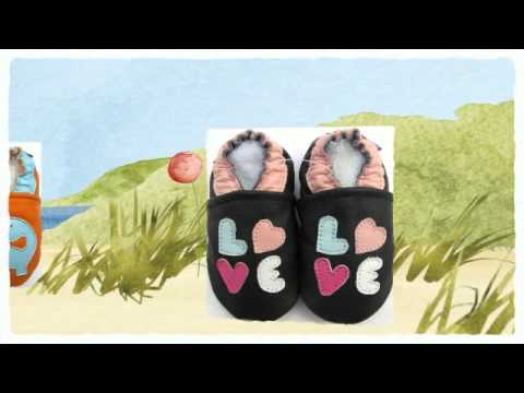 Carozoo soft sole leather baby shoes $9.99