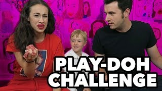 Play-Doh MEAT Challenge with Miranda Sings
