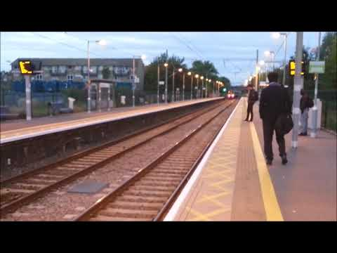 Trains @ Ponders End and Tottenham Hale
