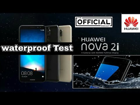 best service e4772 59e79 Huawei Nova 2i Water Test | Official nova 2i | Waterproof Test