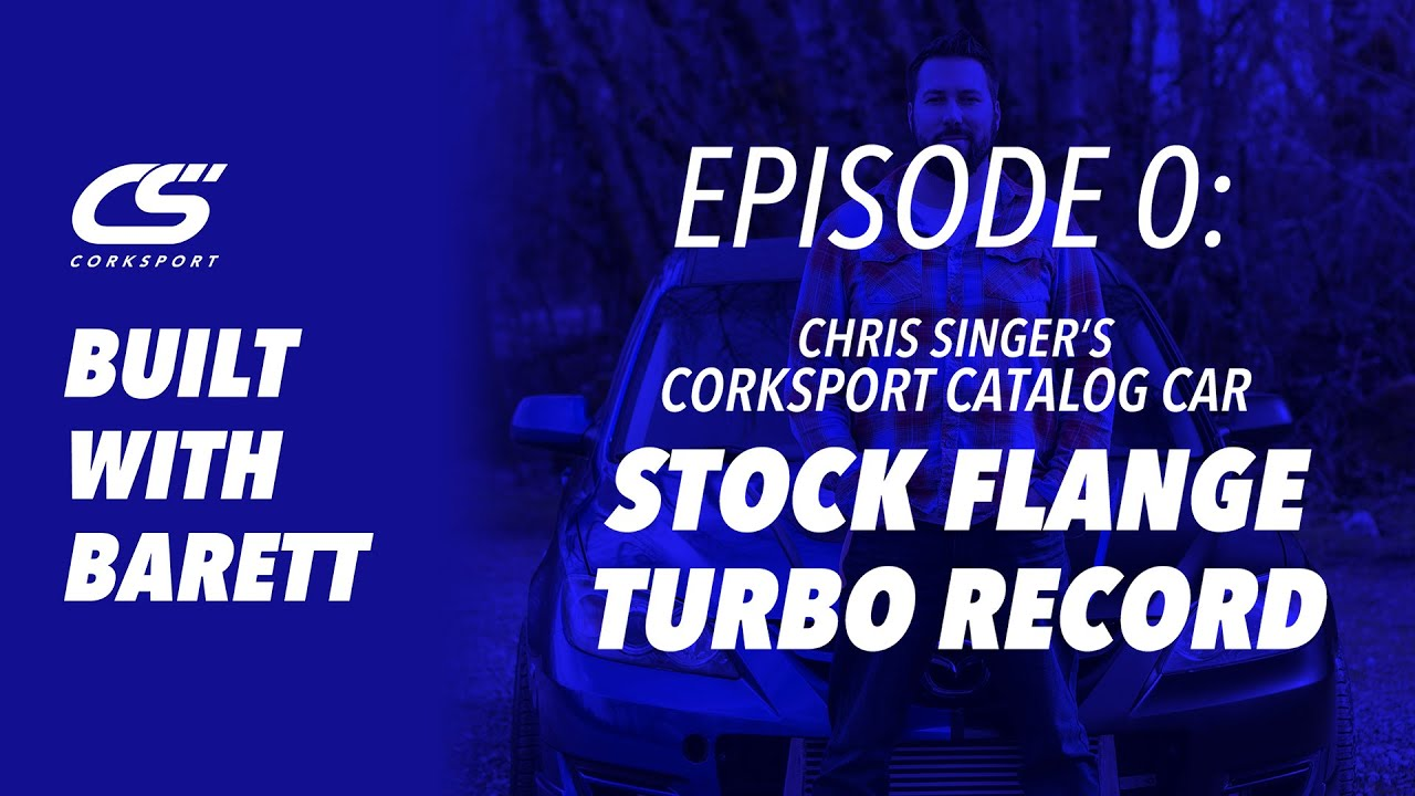 Built With Barett - Chris Singers CST6 Stock Flange Turbo Record!
