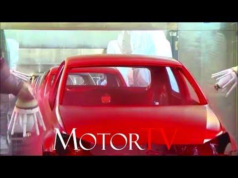 CAR FACTORY : VOLKSWAGEN GOLF 7 l Paintshop l Plant Uitenhage (South Africa ) l Clip