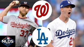 Washington Nationals vs. Los Angeles Dodgers Highlights | NLDS Game 5 (2019)