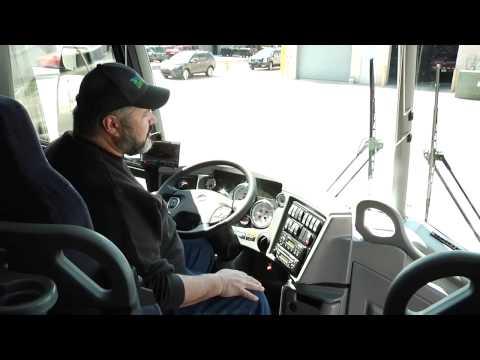 Motor Coach - Driver's Area - YouTube