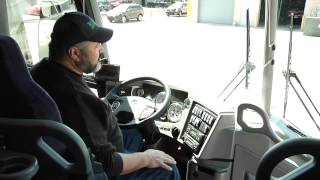 Motor Coach - Driver's Area