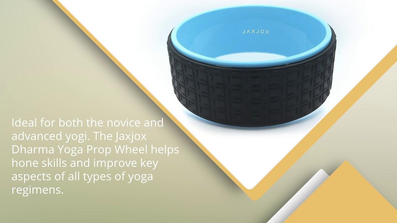 JAXJOX Premium Dharma Yoga Prop Wheel