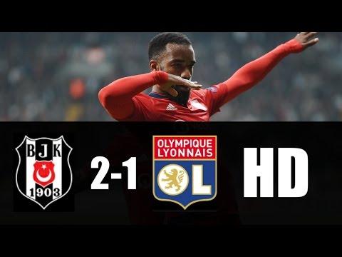 Besiktas vs Lyon 2-1 (6-7) RESUMEN GOLES 2017 HD