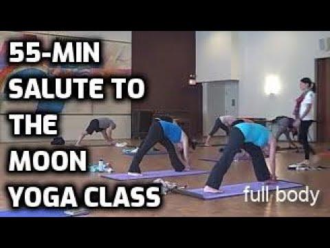 salute to moon variation flow yoga workout.avi