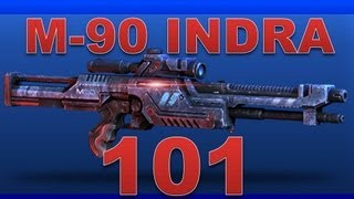 M-90 Indra 101 (Ultra Rare Sniper Rifle in Mass Effect 3 Multiplayer)